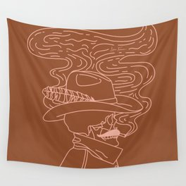 Love or Die Tryin' - Cowhand - Rust & Peach Wall Tapestry