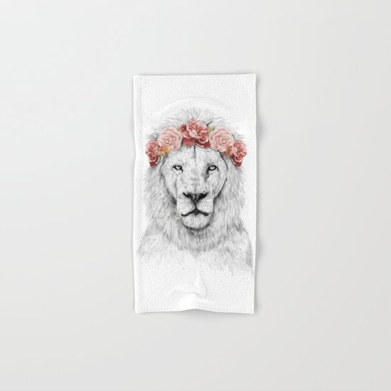 Festival lion Hand & Bath Towel