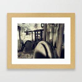 Prensa Framed Art Print