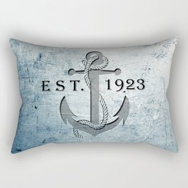 Anchor 1923 Rectangular Pillow