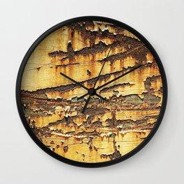 Rusted Metal rustic decor Wall Clock