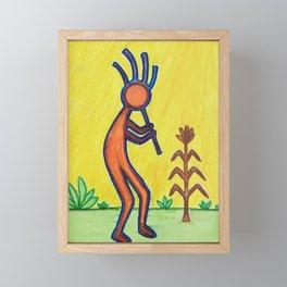 Kokopelli Framed Mini Art Print