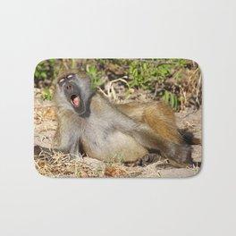 Just sooooo tired - Africa wildlife Bath Mat