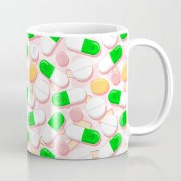 Deadly Pills Pastel Pattern Coffee Mug