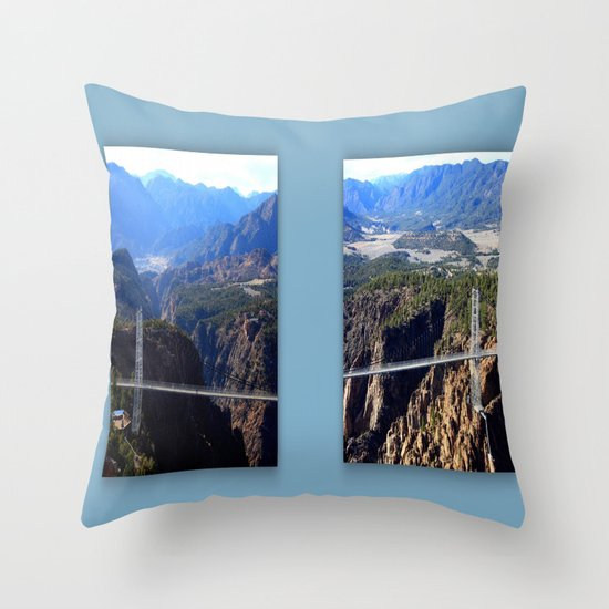 The Royal Gorge Throw Pillow