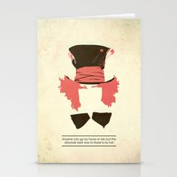 mad hatter Stationery Cards featuring Mad Hatter by TurtleGirl