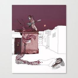 Sirenas in Jerusalem Canvas Print