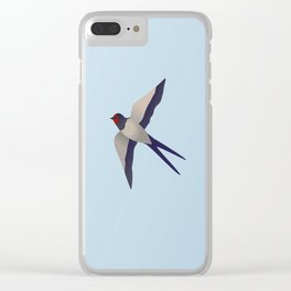 Farmers swallow Clear iPhone Case