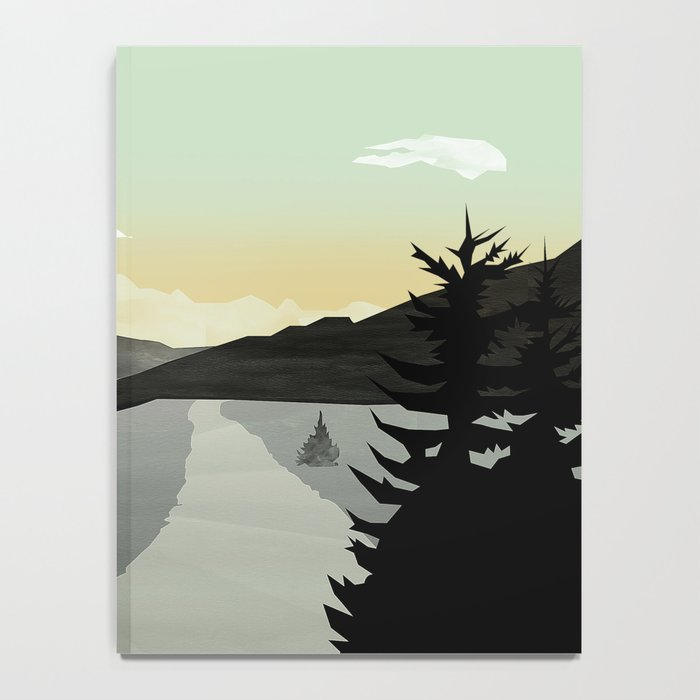 Misty Mountain II Notebook