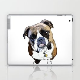 Boxer Dog Laptop & iPad Skin
