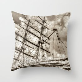 The Cutty Sark  Throw Pillow