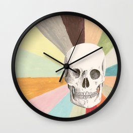 Skull is Cool Wall Clock