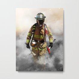 Smoke eater Metal Print