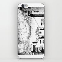 buildings iPhone & iPod Skins featuring Buildings by Giuseppe Vassallo