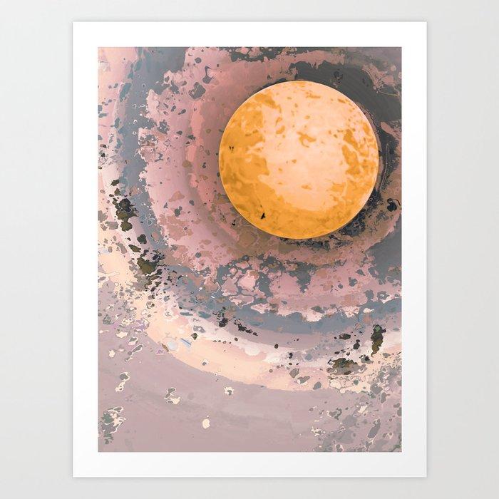Dust 02 - Post Biological Universe Art Print