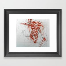 Ribcage Framed Art Print