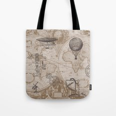 Gears of Flight Tote Bag