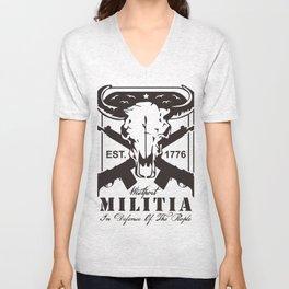 MILITIA Unisex V-Neck