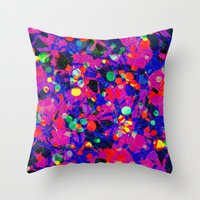 80s Throw Pillows featuring 80S by RUEI