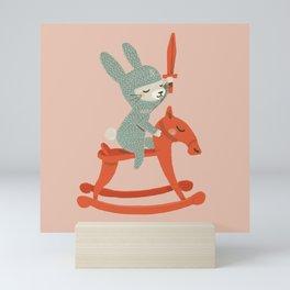 Rabbit Knight Mini Art Print