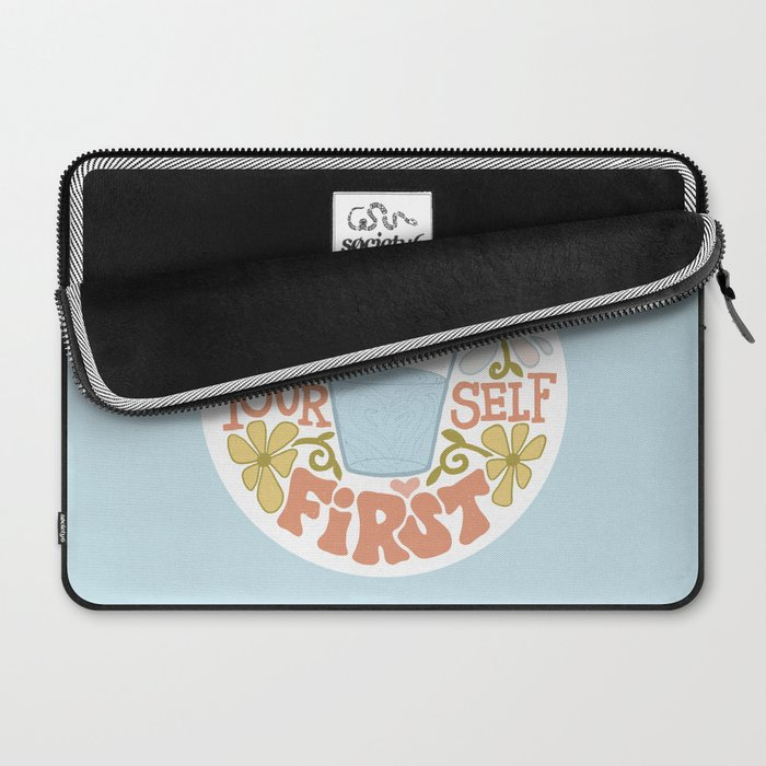 Water Yourself First Laptop Sleeve