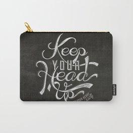 LYRICS - KEEP YOUR HEAD UP Carry-All Pouch
