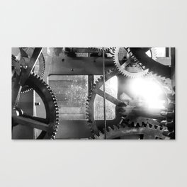 Giant Gear Works Canvas Print