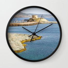 Bay of Sardinia - Italy Wall Clock