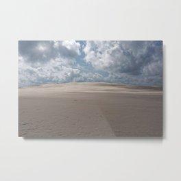 Dramatic sand dune Metal Print
