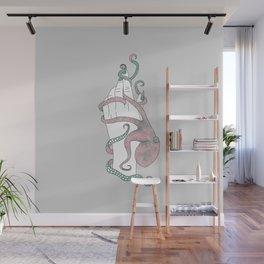From Zero - Octopus Illustration Wall Mural