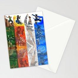 Legend of Korra Elements Stationery Cards