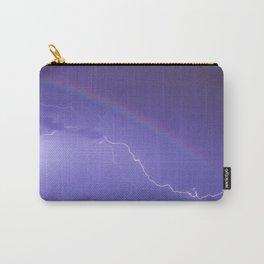 Rainbow Lightning Carry-All Pouch
