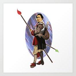 Painter Knights - Dalì Art Print