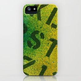 Identification iPhone Case