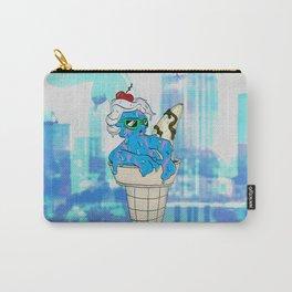 """Sassy Summer Ice Cream Lady"" by Virginia McCarthy & Cap Blackard Carry-All Pouch"
