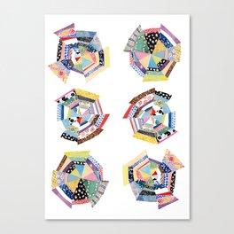Patchwork Canvas Print