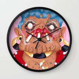 Slot Jockey Sue Wall Clock