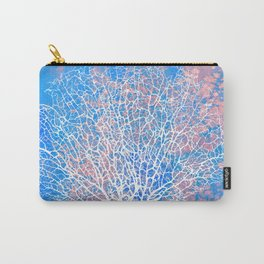 Abstract sea fan coral Carry-All Pouch