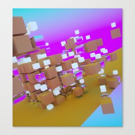 SEGMENTED Canvas Print