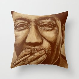 """mississippi man"" Throw Pillow"