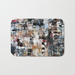 MODERN CONTEMPORARY ABSTRACT ART Bath Mat