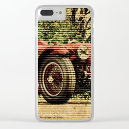 1939 Aston Martin 2 Litre Speed Model Clear iPhone Case