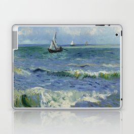 Seascape near Les Saintes-Maries-de-la-Mer Laptop & iPad Skin