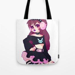 Pastel Goth D.Va Tote Bag