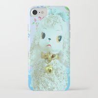 poodle iPhone & iPod Cases featuring Poodle by Vintage  Cuteness