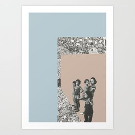 Refugees Welcome Art Print