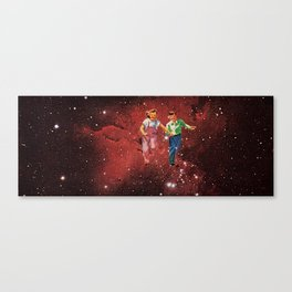 We spent most of our childhood lost in space. Canvas Print