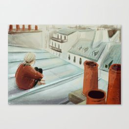From the roof Canvas Print