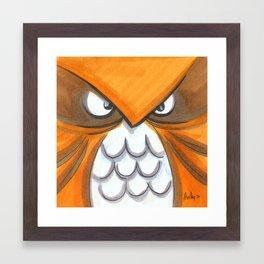 Mood Monster-birds Framed Art Print