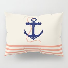 AFE Navy Anchor and Chain Pillow Sham